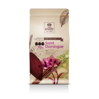 Chocolat noir Barry St-Domingue 70% cacao - 1 kg