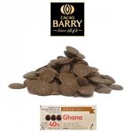 Chocolat au lait Barry Ghana 40.5% cacao - 500 g