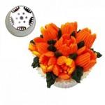 Grande douille pour fleur - CACTUS DE NOËL