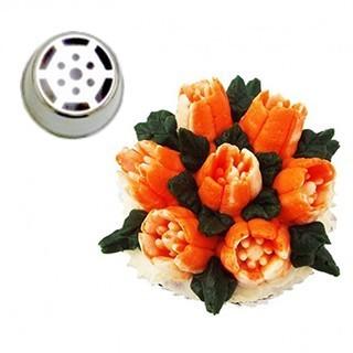 Grande douille pour fleur - SPECIMEN ROSE