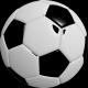 Ensemble de découpoirs Ballon de soccer