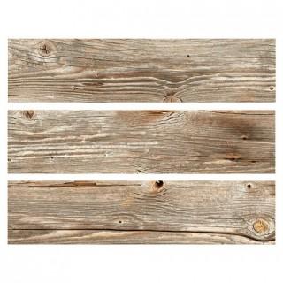 Feuille comestible Impression grain de bois