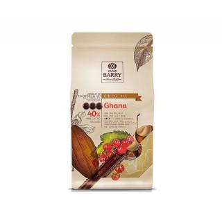 Chocolat au lait Barry Ghana 40.5% cacao - 1 kg