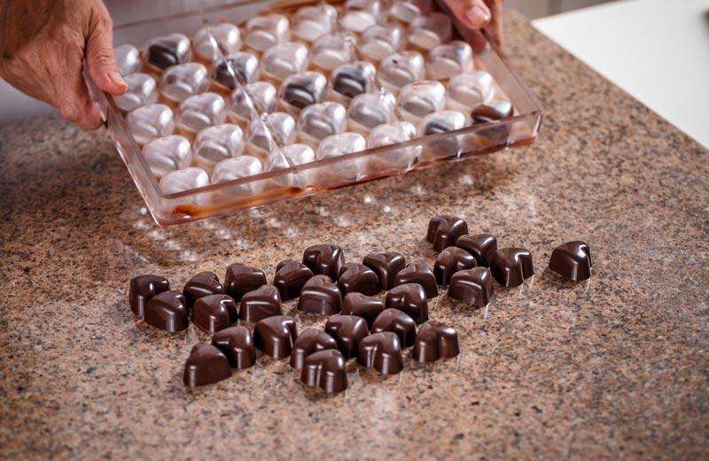 Comment mouler du chocolat