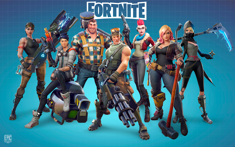 Anniversaire Fortnite