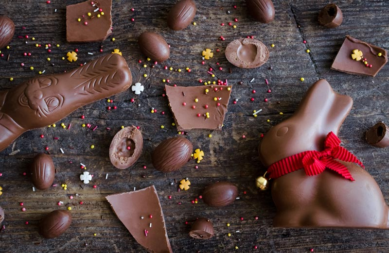 Vos enfants ont reçu trop de chocolats de Pâques? Voici des idées pour réussir à les passer plus rapidement.