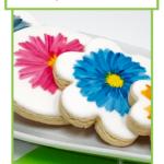 Peinturer sur des biscuits avec de la peinture comestible Edible Art et notre ensemble de pinceaux spéciaux