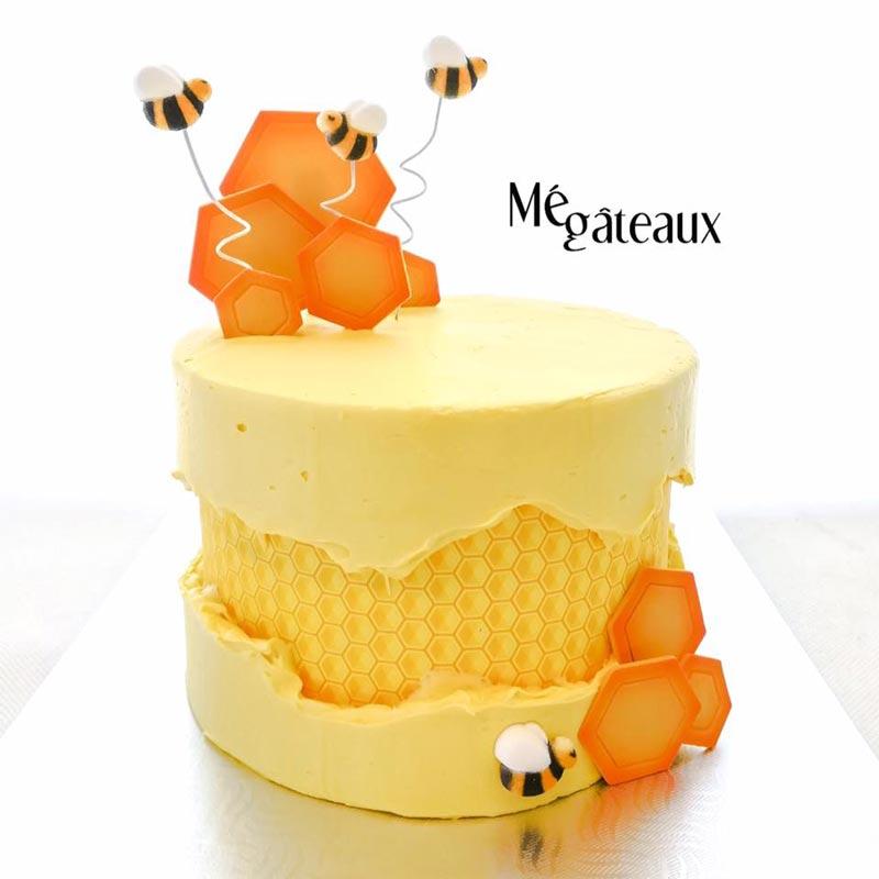 Fault like cake avec une image comestible par Mé Gâteaux