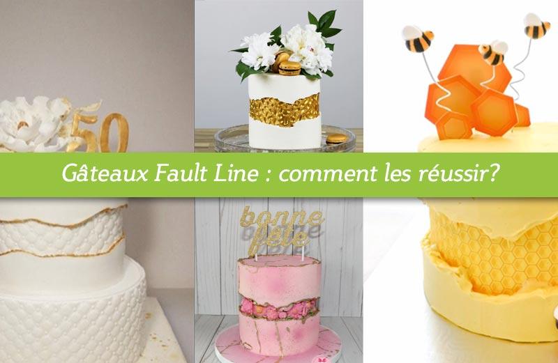 Comment faire un fault line cake?