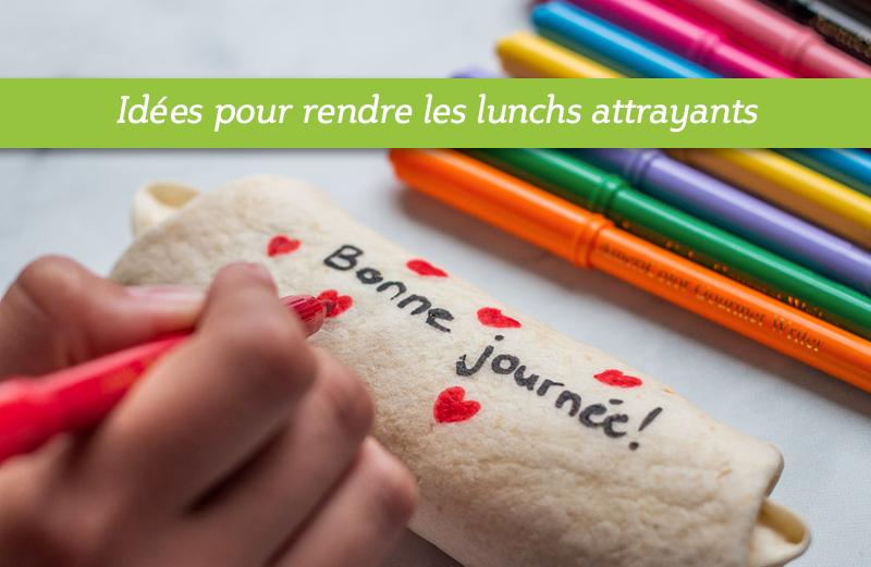 Comment écrire sur un sandwich avec des crayons alimentaire