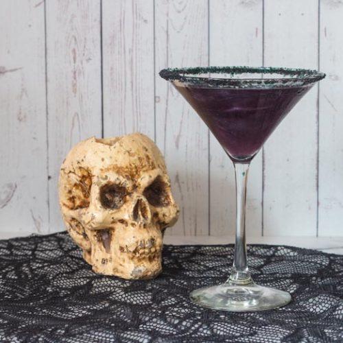 Recette de cocktail pour l'Halloween qui brille avec Spirdust