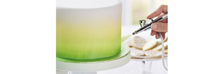 Airbrush pour gâteau