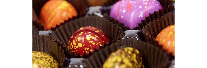 Beurre de cacao coloré