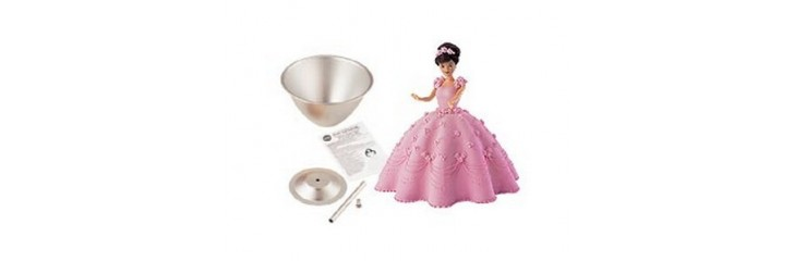 Moules à gâteau «princesse»