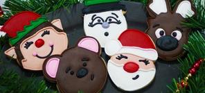 Découpoirs et embosseurs Visages amusants de Noël