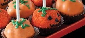 Moule à cake pops Citrouille